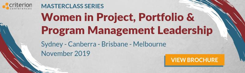 Women in Project, Portfolio & Program Management Leadership Masterclass