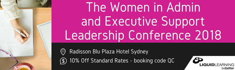 Women in Admin & Executive Support Leadership Conference 2018