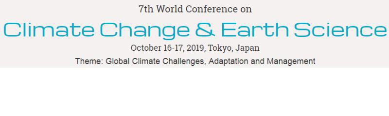7th World Congress on Climate Change & Earth Science
